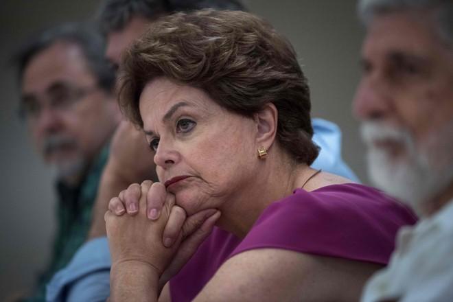 Ex-presidente foi submetida a um cateterismo e a uma angioplastia – cirurgia feita para desentupir artérias . | Mauro Pimentel/AFP
