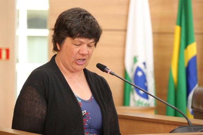 A vereadora segue exercendo o mandato na Câmara | Rodrigo Fonseca/CMC