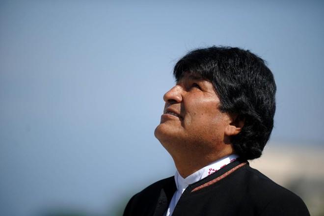 Presidente da Bolívia desde 2006, Evo Morales teve que recorrer à justiça para conseguir disputar o quarto mandato consecutivo | YAMIL LAGE/AFP