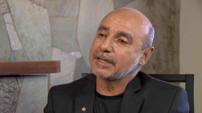 Fabrício Queiroz, ex-assessor de Flávio Bolsonaro, em entrevista ao SBT. | Reprodução/SBT