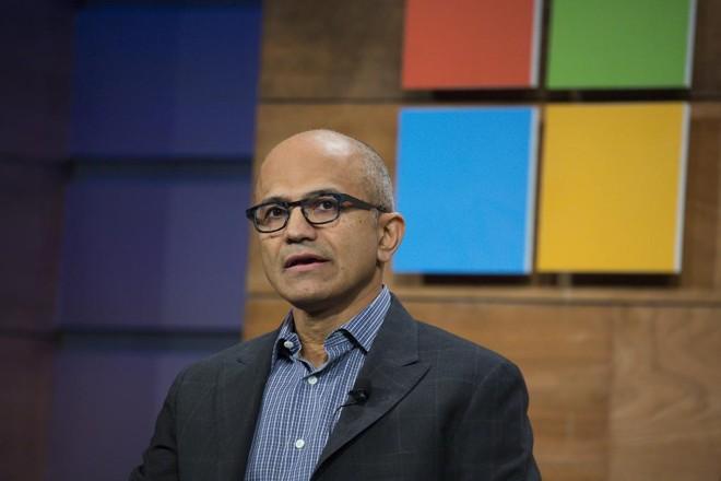 Satya Nadella, CEO da Microsoft. | David Ryder/Bloomberg