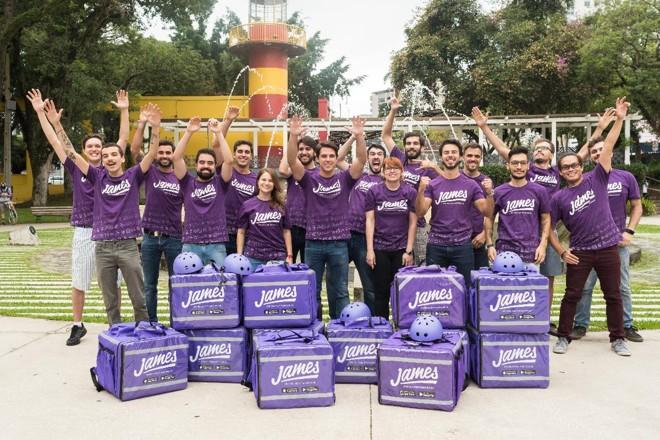 Equipe da James Delivery | Divulgação/James Delivety