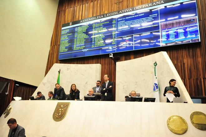 Plenário da Assembleia Legislativa do Paraná. | Sandro Nascimento/Alep/ Arquivo