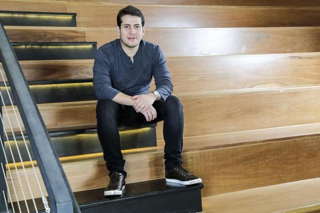 Um dos fundadores e CEO da Nexo AI, Diego Figueredo. | Marcelo Pereira/M11 Photos