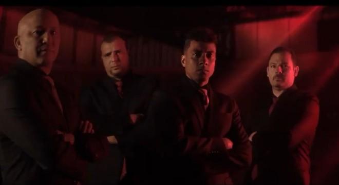 Alex Mineiro, Gustavo, Kleberson e Cocito, personagens de vídeo institucional do Atlético-PR.   /Reprodução Twitter