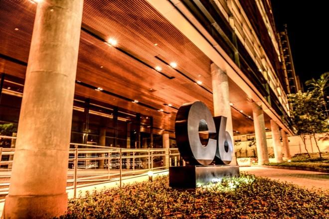 Sede de 8 mil metros quadrados do C6 Bank fica na Avenida Nove de Julho, em São Paulo, e também abrigará um programa próximo de startups. | Divulgação/