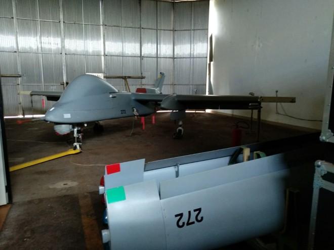 Os veículos aéreos não tripulados (VANT) estão parados em um galpão de São Miguel do Iguaçu desde  2016 | /Divulgação