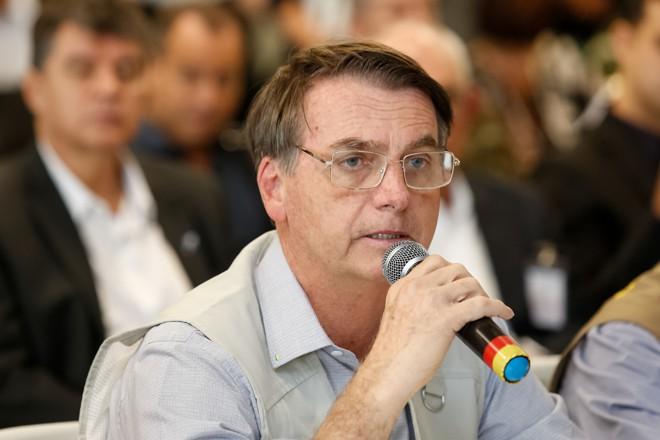Jair Bolsonaro participa de reunião de trabalho em Belo Horizonte com autoridades e representantes da Vale. | Isac Nóbrega/Presidência da República