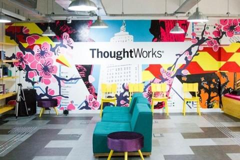 Sede da ThoughtWorks, consultoria global de tecnologia que, pelos segundo ano seguido, ficou no topo da lista das grandes empresas mais amadas do país, segundo o portal Love Mondays. | Reprodução Love Mondays