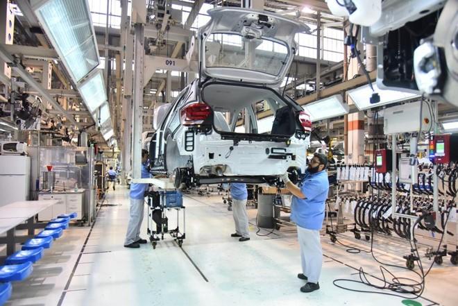 Uma das fábricas da Volkswagen no Brasil: impostos estrangulam competitividade brasileira | Volkswagen/Divulgação
