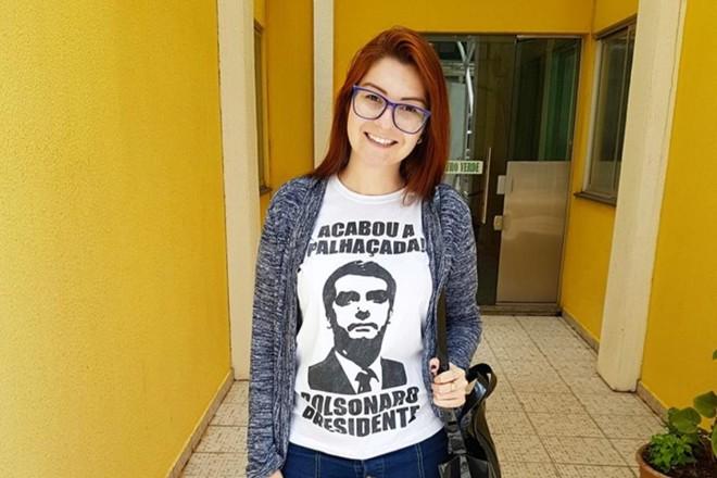 Ana Caroline Campagnolo (PSL) foi eleita para a Assembleia Legislativa de Santa Catarina com quase 35 mil votos. | Reprodução/Facebook