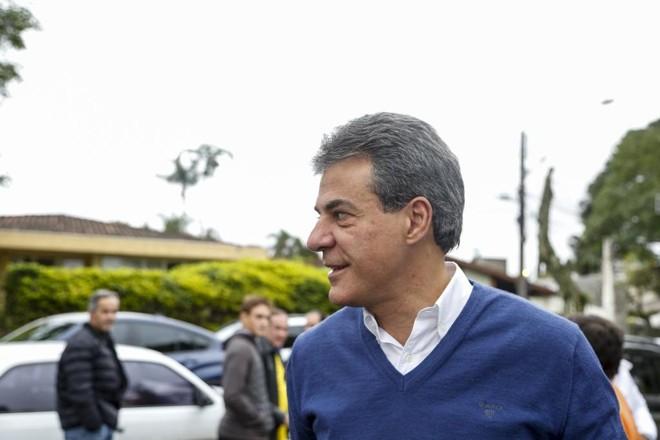 Ex-governador Beto Richa teria tentado  interferir nas investigações, segundo o  juiz federal Paulo Sergio Ribeiro. | Marcelo Andrade/Gazeta do Povo