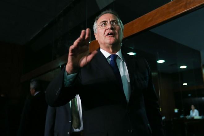 Renan Calheiros: votação secreta favorece o senador alagoano. | Fabio Rodrigues Pozzebom/Agência Brasil