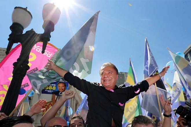 Após derrota na campanha para presidente da República, meta de Alvaro Dias agora é a presidência do Senado. | Albari Rosa/Gazeta do Povo