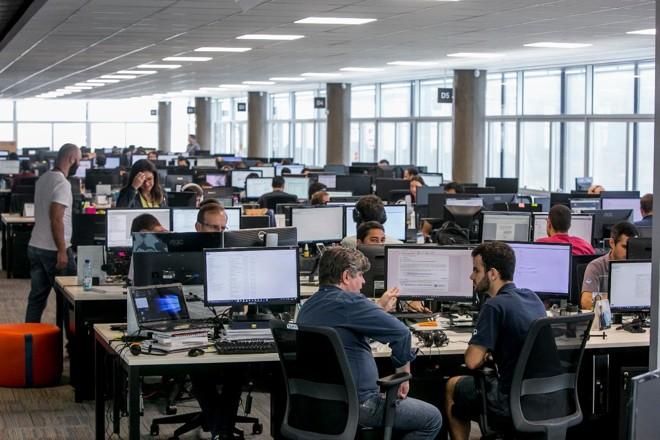 Softplan, com escritórios em Florianópolis e São Paulo, está com 130 vagas abertas | Fernando Willadino/ Softplan