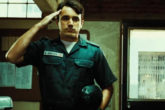O ator Caio Junqueira em cena do filme'Tropa de Elite' | Reprodução
