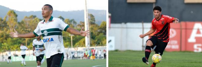 IgorJesus, do Coritiba, e Bruno Leite, do Athletico, estão entre os jovens que subiram pra os times profissionais   Divulgação/Coritiba e Athletico
