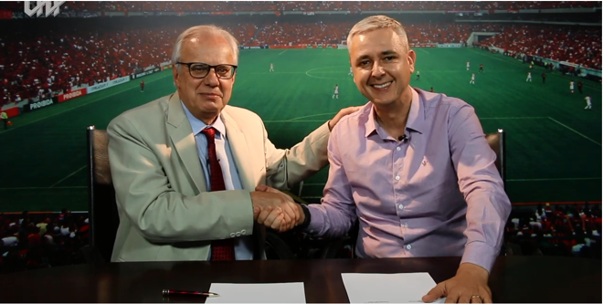 Athletico confirmou a efetivação do técnico Tiago Nunes para 2019   Reprodução/YouTube