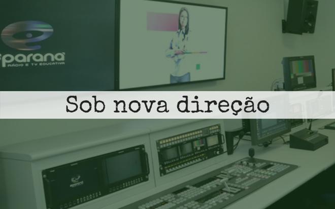 Produção local da É-Paraná foi suspensa pelo governo Ratinho Junior para reavaliar os gastos da emissora. | Jaelson Lucas/ANPr