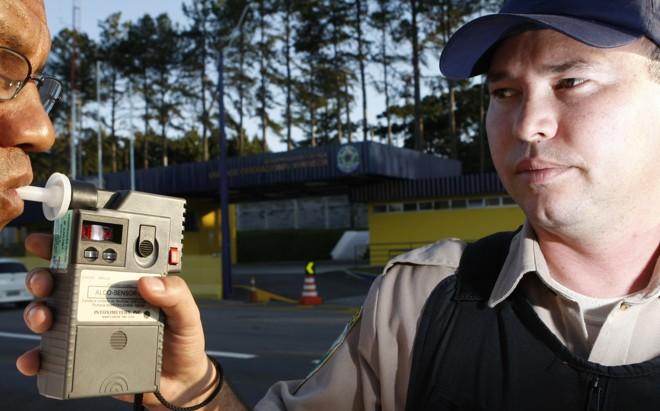Sistema de identificação de drogas em motoristas, o drogômetro é similar ao bafômetro. | Arquivo/Gazeta do Povo