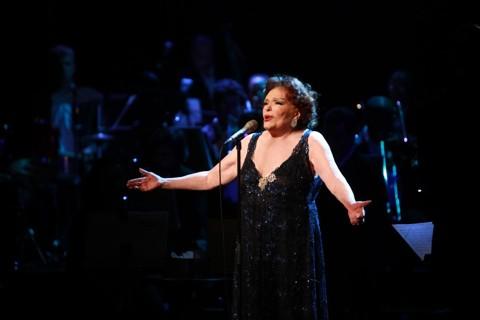 A atriz, cantora e diretora teatral Bibi Ferreira |