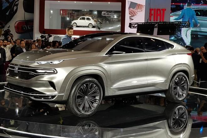 O conceito Fastback, que servirá de base para o SUV, foi apresentado no Salão de SP 2018. | Renyere Trovão / Gazeta do Povo