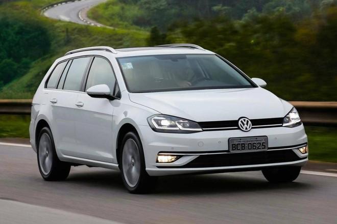 Importada do México, o Golf Variant é vendido atualmente com motor 1.4 turboflex, de 150 cv.   Volkswagen / Gazeta do Povo