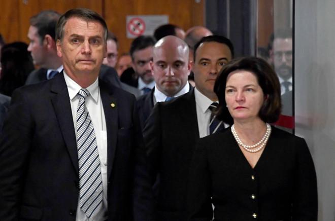 Procuradora-geral da República (PGR), Raquel Dodge enfrenta rebelião com a proposta de reforma do MPF. | EVARISTO SA/AFP