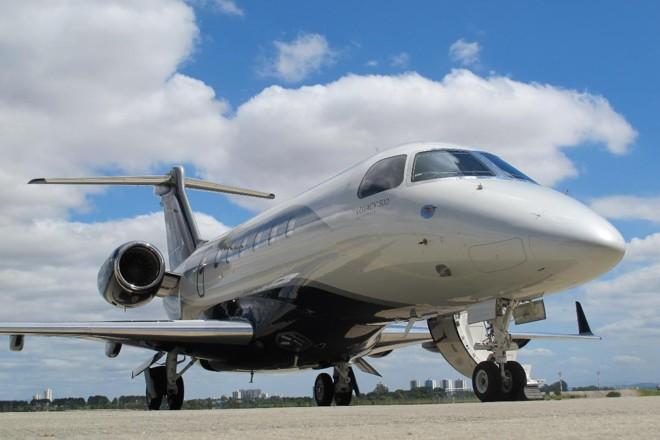 Legacy 500, da Embraer | Divulgação/ Embraer