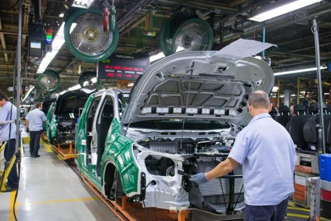 Fábrica da GM em São José dos Campos (SP). | DivulgaçãoGM