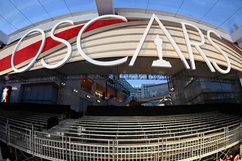 Preparativos para o 91º Oscar na Hollywood Boulevard, em 21 de fevereiro de 2019. | ROBYN BECK/AFP