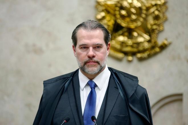 O presidente do STF, ministro Dias Toffoli.   Rosinei Coutinho/SCO/STF