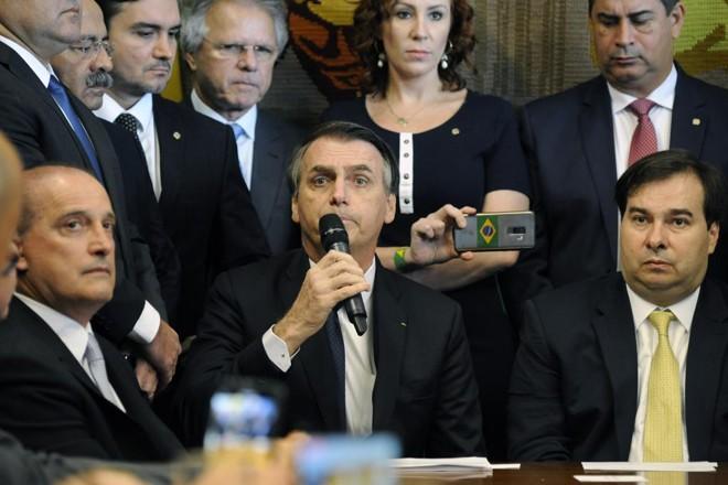Pronunciamento de Jair Bolsonaro sobre a reforma da Previdência foi agendado para às 20h30 em cadeias de rádio e televisão. | Cleia Viana