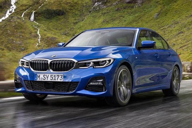 O Serie 3 está maior e com um visual mais sisudo, herdado do irmão maior Serie 7.   BMW/ Divulgação
