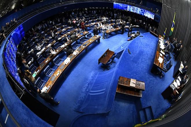 Plenário do Senado: votação foi simbólica. | Marcos Oliveira/Agência Senado