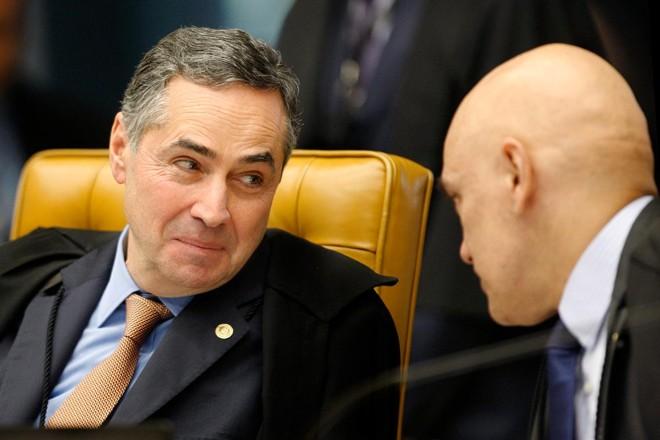 Os ministros Barroso e Alexandre de Moraes votaram de forma a equiparar a homofobia ao racismo. | Rosinei Coutinho/SCO/STF