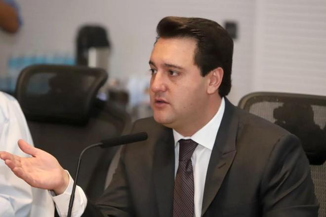 O governador Ratinho Junior. | Rodrigo Félix Leal/ANPr
