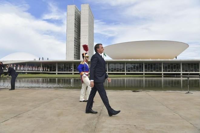 Coma bênção do presidente Jair Bolsonaro, reforma da Previdência deve finalmente ser encaminhada ao Congresso na quarta-feira, dia 20. | Marcos Brandão/Agência Senado