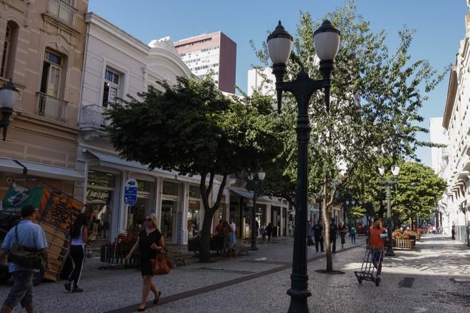 Calçadão da Rua XV em 2019 | Cassiano Rosario/Gazeta do Povo