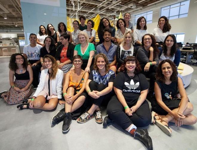 A turma 2019 do projeto News Ventures Lab  do Chicas Poderosas . | Divulgação/Chicas Poderosas