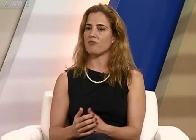 A juíza federal substituta Gabriela Hardt.   Reprodução