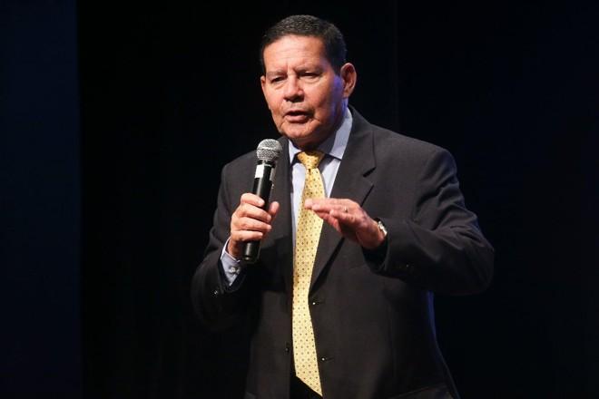 O vice-presidente da República, Hamilton Mourão   Antonio Cruz/Agência Brasil
