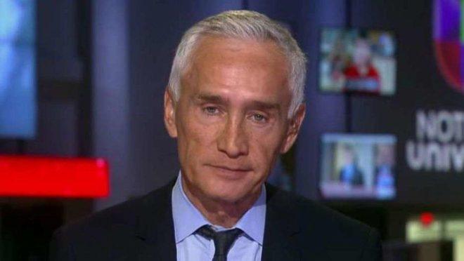 Jorge Ramos, jornalista de TV americana Foto: Reprodução