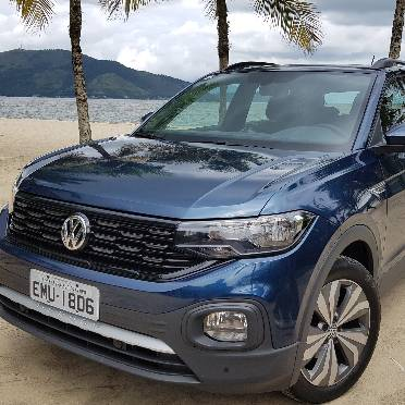 O T-Cross é o lançamentos mais importante da Volkswagen nos últimos anos. Foto: Renyere Trovão/ Gazeta do Povo.