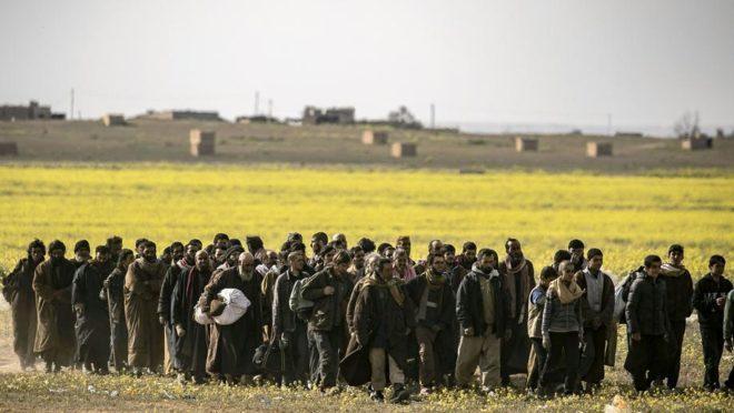 Batalha de Baghouz, Síria