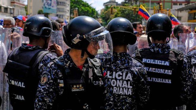 Protesto contra Maduro em 9 de março