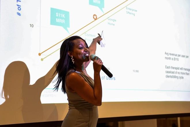 Bea Arthur apresenta projeto de investimento | DESIREE RIOS/ NYT