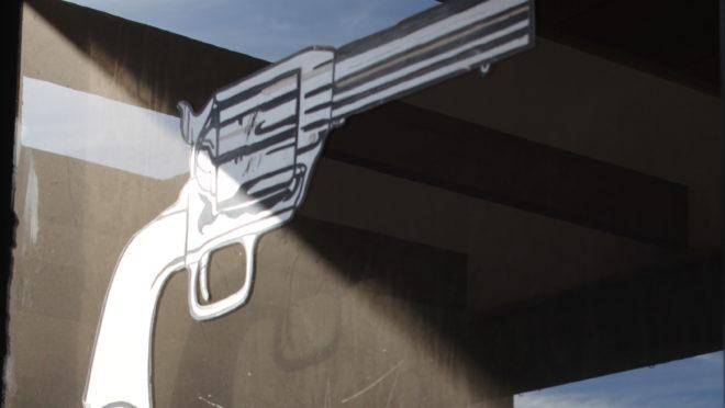 Lojas de armas estão espalhadas pela quinta maior cidade americana (Foto: Raphael Sibilla)