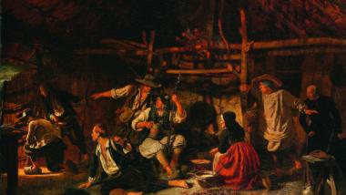 """Quadro """"Chouans"""", do  Musée des Beaux-Arts de Lille, mostra os insurgentes da Guerra da Vendeia. (Domínio Público)"""