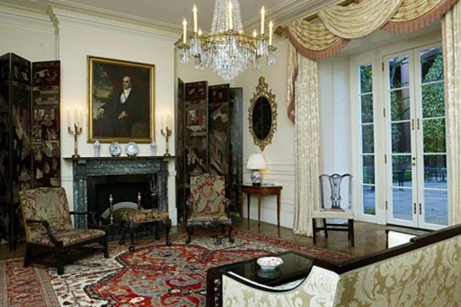Blair House, residência oficial americana onde está hospedado o Bolsonaro | Blair House/Divulgação